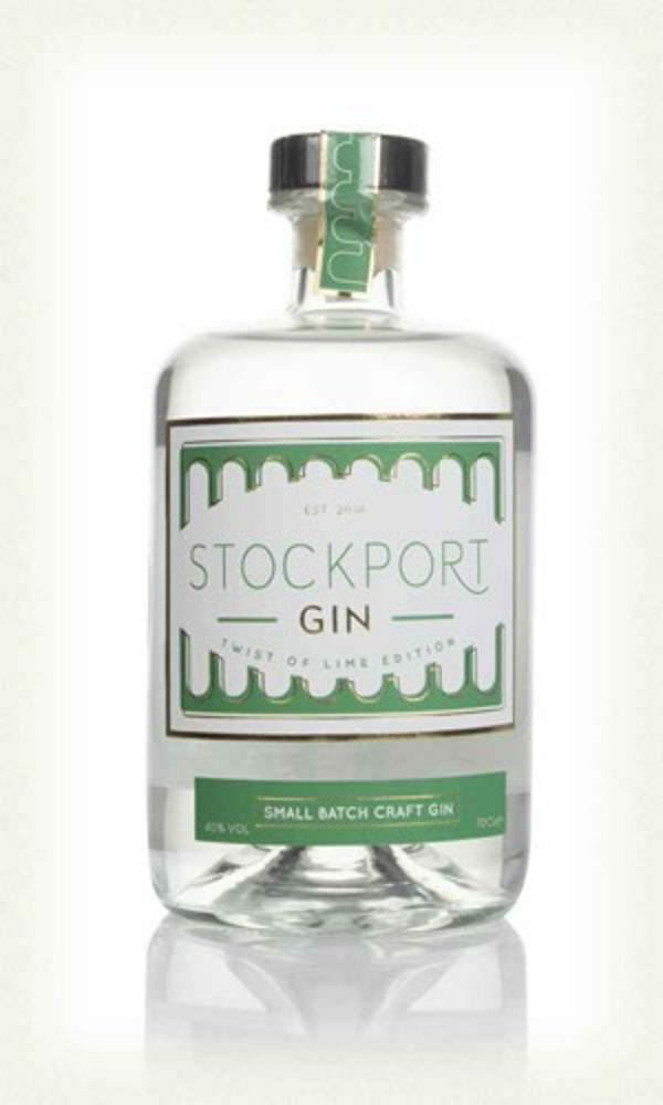Stockport Gin Twist of Lime